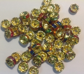 Goud Mix. 8 mm 10 voor