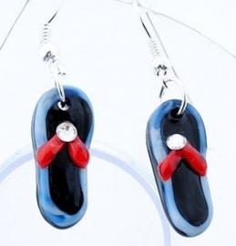 9. donkerblauwe sandaal