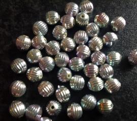 Zilver met roze groen 20 voor