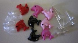 Dolfijntjes 8 stuks + stekers