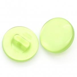 Rond groen knoopje. 12 cm
