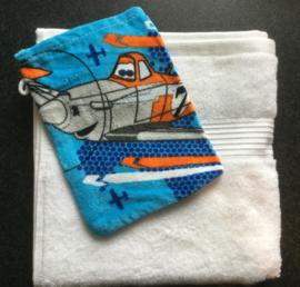 Handdoek met Disney vliegtuig