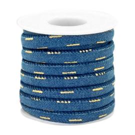 Denim / Midnight blue-gold Streep