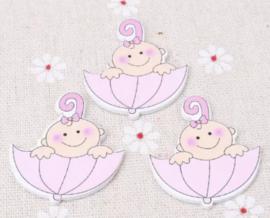 Baby roze paraplu