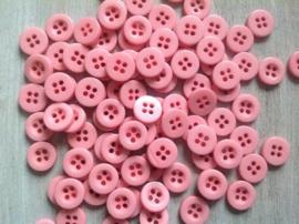 Roze knoopje 10 mm
