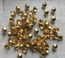 Studs goud  10 mm 30 voor