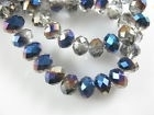 Blauw/ crystal     25 stuks