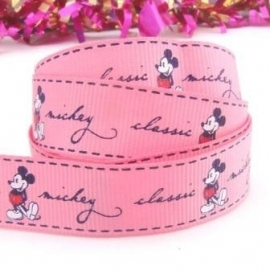 Mickey Mouse Donker Roze
