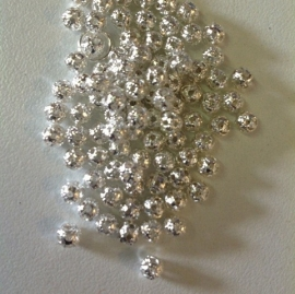 Zilveren ballen 6 mm  20 voor € 0,30