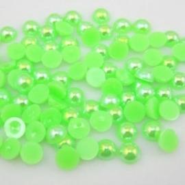 Fel groen  6 mm  100 voor