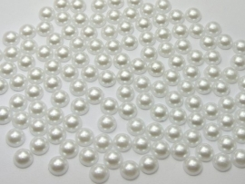 Wit. 6 mm.   100 voor