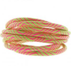 Roze groen.     25 cm