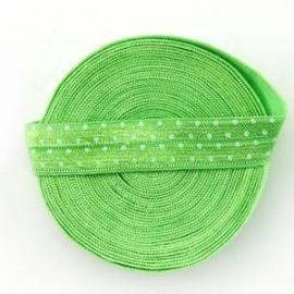 Groen met stippen 16 mm
