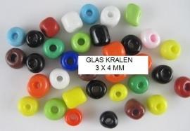 Glas kralen  25 voor €0,85