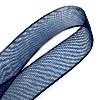 Organza lint Donkerblauw 12 mm