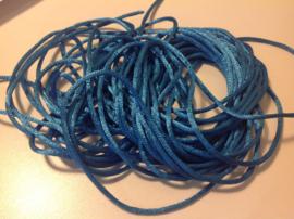 Blauw.  per meter