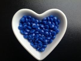 Blauw. 6 x 3 mm.   25 voor