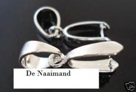 Hangers zilver 2 voor € 0.35