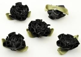 2. Bloem Zwart 33 x 30 mm per stuk € 0,15