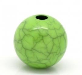 Groene kraal 20 voor € 0,55