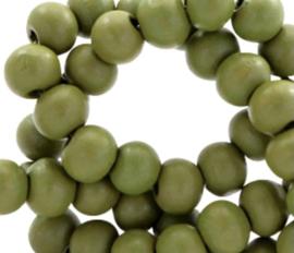 Groen mos.  6 mm. 100 voor €1,50