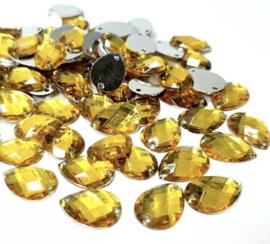 14 x 10 mm geel 20 voor €0,75