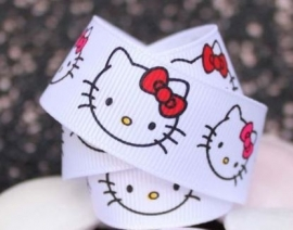 Hello Kitty band WIT € 0,90 p.m