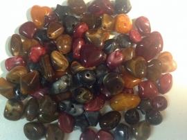 Stenen ( acryl ) verschillende maten 40 stuks voor € 1,00