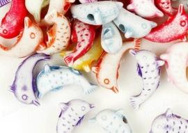 Dolfijntjes 6.5 x 4.5 mm  25 voor € 1,00