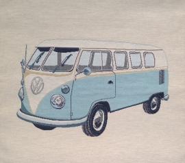 VW bus. Blauw