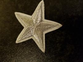 Ster. zilver. 5 x 5 cm