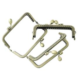 Bronskleurig  Frame  9.1 x 6.5 cm