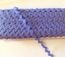 Zigzagband LILA 2 meter € 0,95