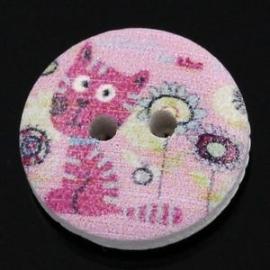 Hondje / Poesje. 15 mm per stuk € 0,08