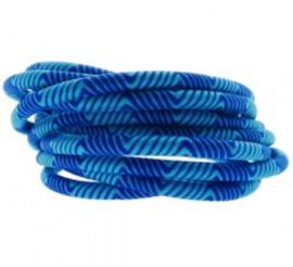 Blauw.    25 cm