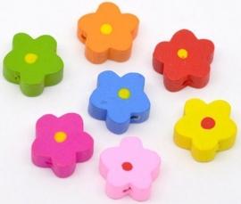 Bloemen 15 mm 5 voor € 0,45