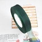 Organza lint  Donker groen  20 mm