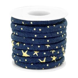 Denim / Dark midnight blue-gold Ster