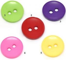 Vrolijke kleuren  15 mm