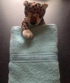 Handdoek met Its a boy