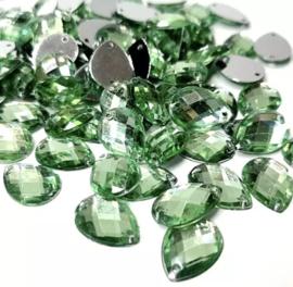 14 x 10 mm groen 20 voor €0,75