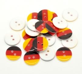 Duitse driekleur 17 cm