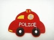 Politie auto 6 x 8 cm per stuk € 0,85