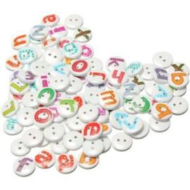 Alphabet letters mix. 5 voor