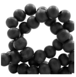 Zwart. 6 mm. 100 voor €1,50
