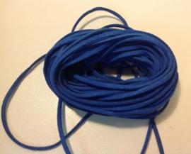 Suède Blauw.   50 cm.  voor