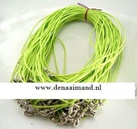 Koordketting  groen   2 voor € 0,45
