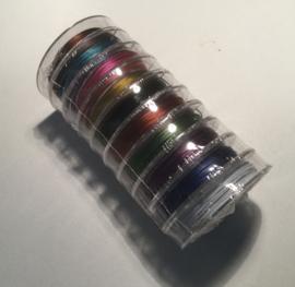 Ijzerdraad  in kleur 0.38 mm 10 meter voor € 1.00