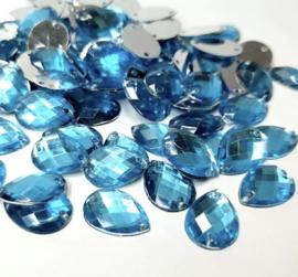 14 x10 mm blauw. 20 voor €0,75