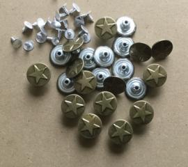 Pin knopen met ster